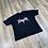 Thumbnail: Oversize T-shirt Schnitt-echt X Blackmetal