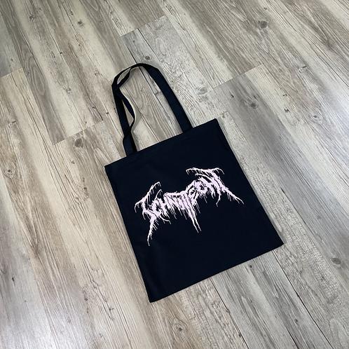 Jutebeutel Schnitt-echt X Blackmetal