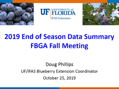 FBGA - 2019 End of Season Data