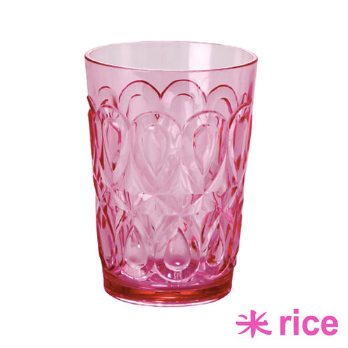 RICE akryl glass rosa