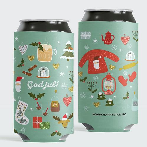 """Happy Star bokskjøler """"God Jul"""""""