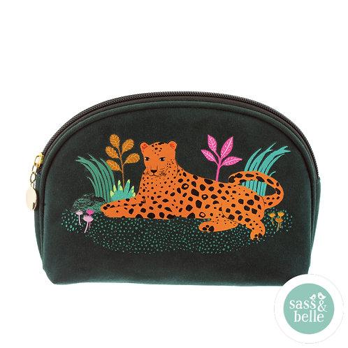 Sass & Belle leopard sminkepung