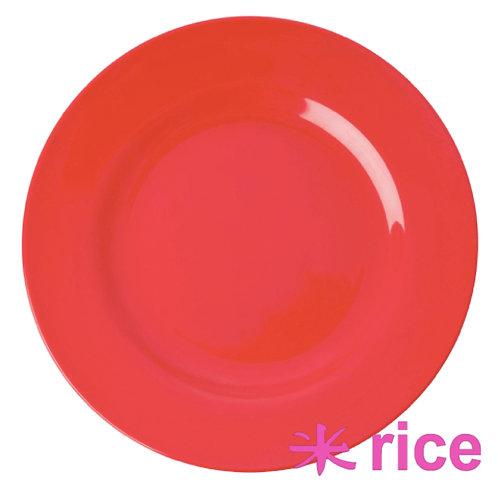 RICE melamin tallerken  Red Kiss 25 cm