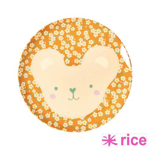RICE melamin frokosttallerken animal print 20 cm