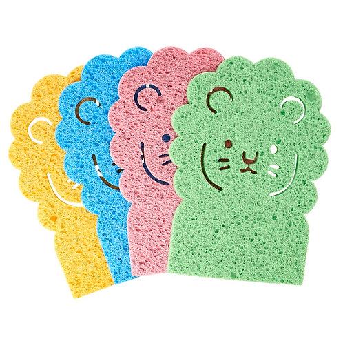 RICE løve - svamp uten mikroplast