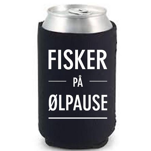 """Happy Star Bokskjøler """"Fisker på ølpause"""""""