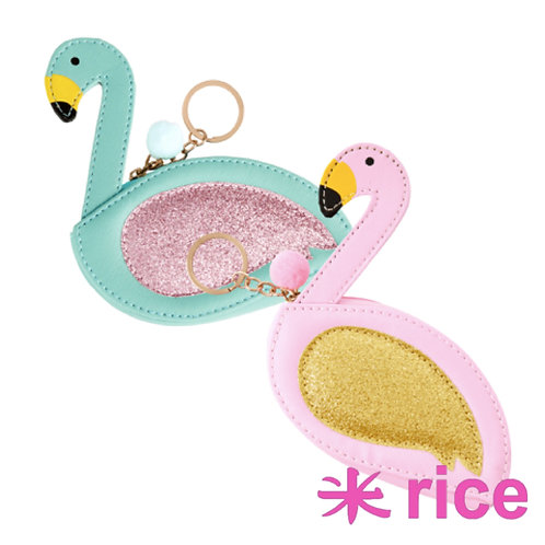 RICE flamingo pung