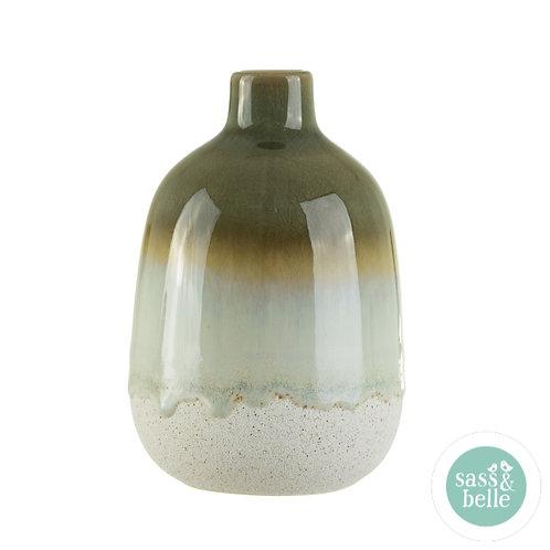 Sass & Belle Mojave glaze vase