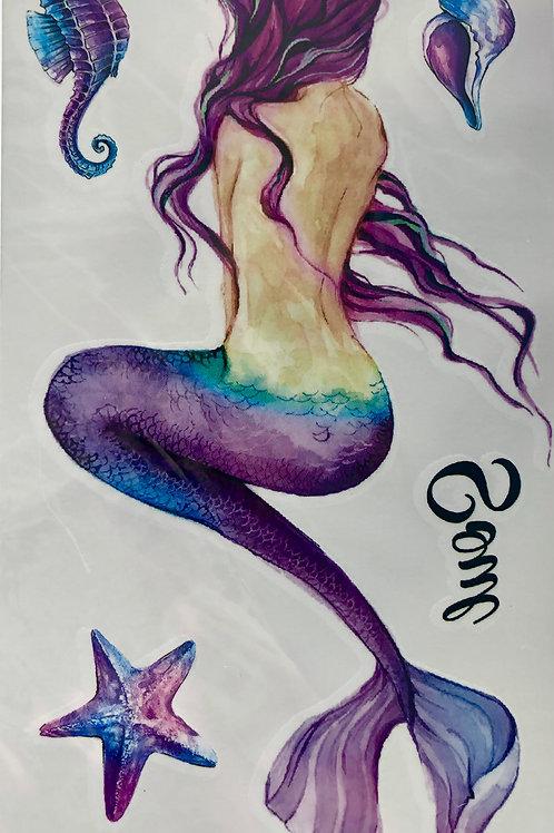 MERMAID tattoo-ark