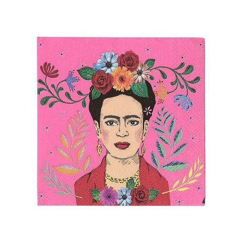 TT Frida Kahlo papirservietter