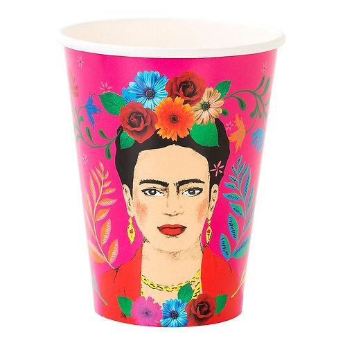 TT Frida Kahlo pappkrus /kopper