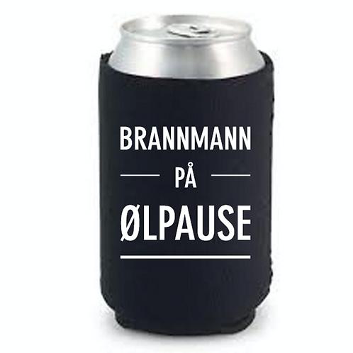 """Happy Star Bokskjøler """"Brannmann på ølpause"""