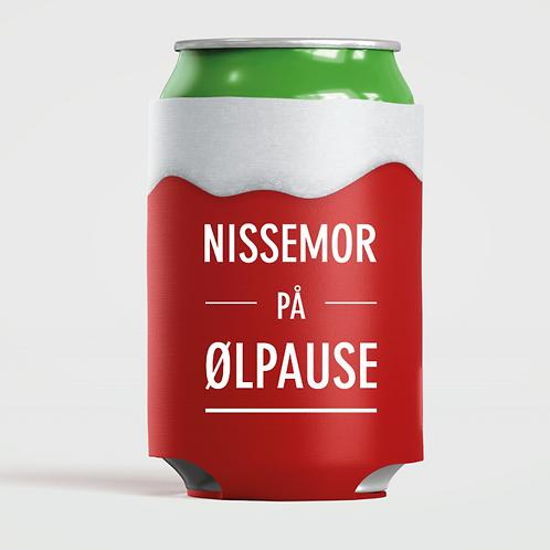 """Happy Star bokskjøler """"Nissemor på ølpause"""""""