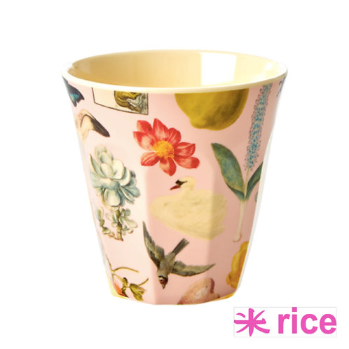 RICE medium melamin kopp - rosa art print