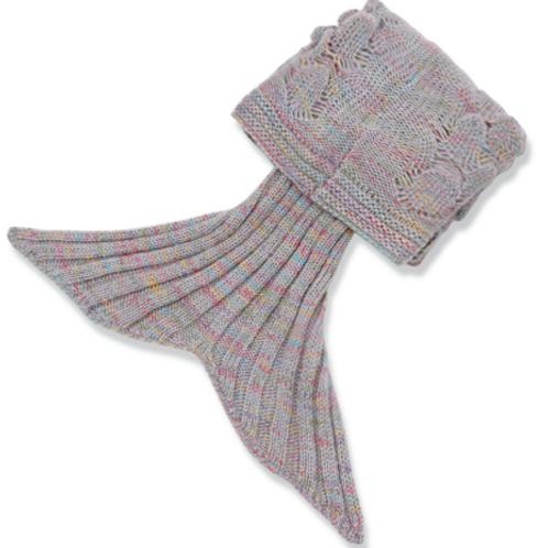 MERMAID shell blanket havfruteppe