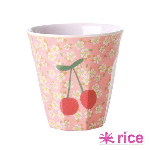 RICE melamine cherry kopp