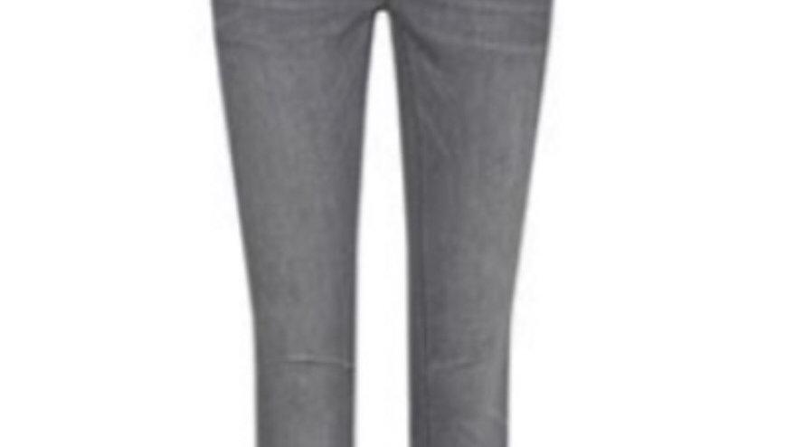 MOS MOSH Bukse Naomi Skade grey jeans