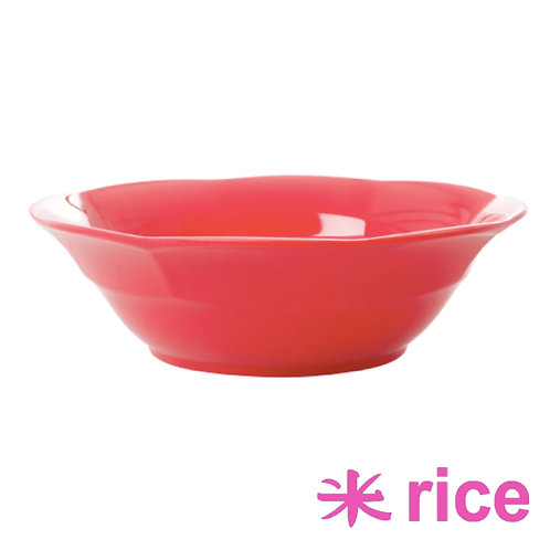 RICE melamin suppetallerken - Red Kiss