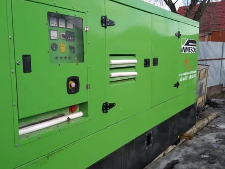 Завершение аренды дизельных генераторов в Пскове