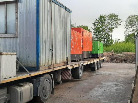 Завершилась аренда дизельных генераторов в Смоленске