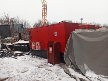 Увеличение мощностей на строительстве ЖК «RiverSky»
