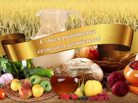 Сегодня День работников сельского хозяйства и перерабатывающей промышленности