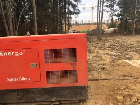 Аренда генераторов на прогреве бетона