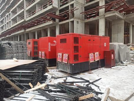 Продолжаем работать на строительстве ЖК «RiverSky»