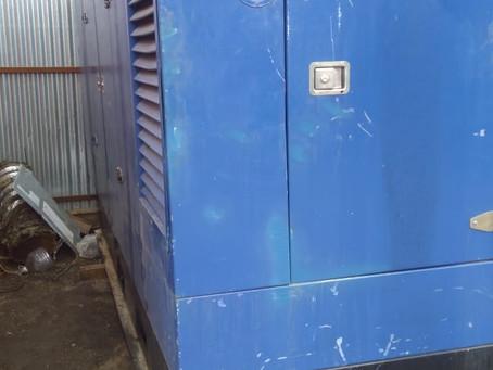 Завершилась аренда дизельного генератора в районе стадиона «Торпедо»