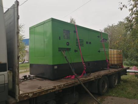 Завершилась аренда дизельного генератора в Климовске