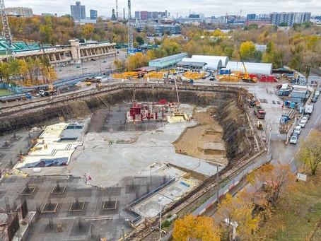 Аренда дизельных генераторов на строительстве ЖК «River Sky» и реконструкции стадиона «Торпедо»