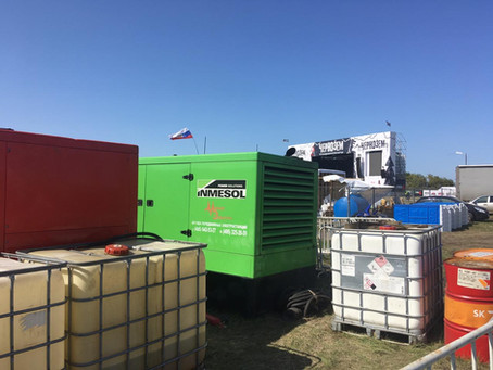 Аренда дизельных генераторов на «Чернозёме-2019»
