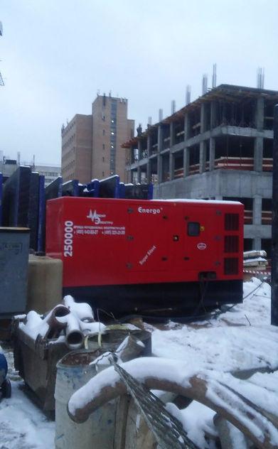 Аренда электростанции на строительных объектах