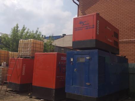 Техническое обслуживание дизельных генераторов после «Чернозема-2019»