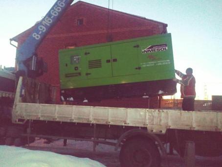 Аренда дизельных генераторов на строительных объектах