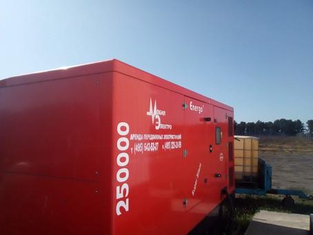 Продолжается сезонная аренда дизельных генераторов в Белгородской области