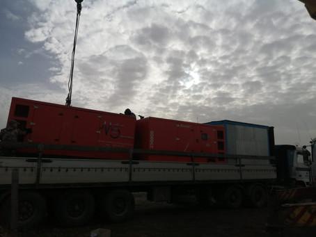 Завершилась долгосрочная аренда дизельных генераторов в Белгородской области