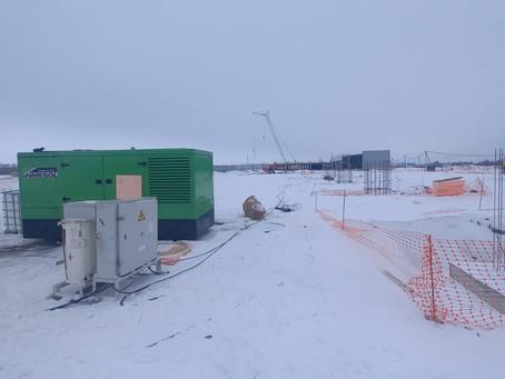 Подведем итоги зимней аренды дизельных генераторов