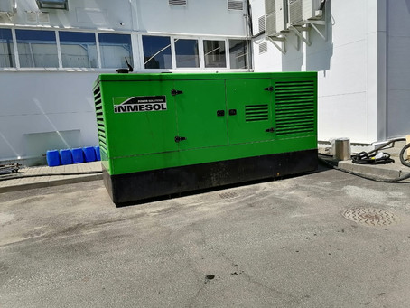 Закончилась аренда дизельного генератора в Белгороде