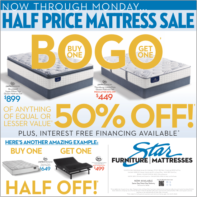 BOGO Newspaper Ad