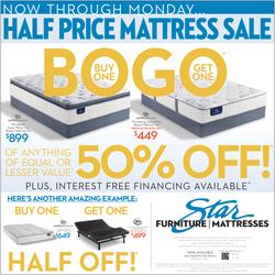 BOGO Newspaper Ad