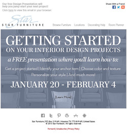 Design Seminar Email