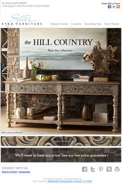 Hill Country Collection Email