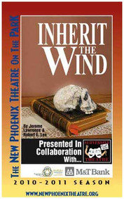 Inherit The Wind By Jerome Lawrence and Robert E. Lee Directed by Kurt Schneiderman