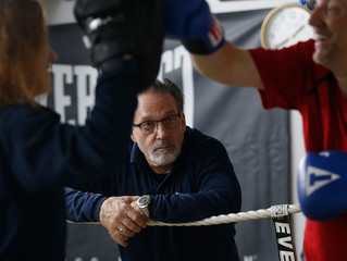 Parkinson's Boxing Featured in the Buffalo News - Taking the Fight to Parkinson's