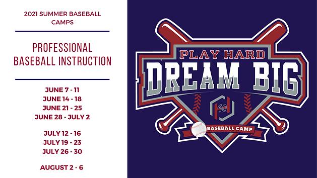 Summer Baseball Camp Baseball Camp 2020-