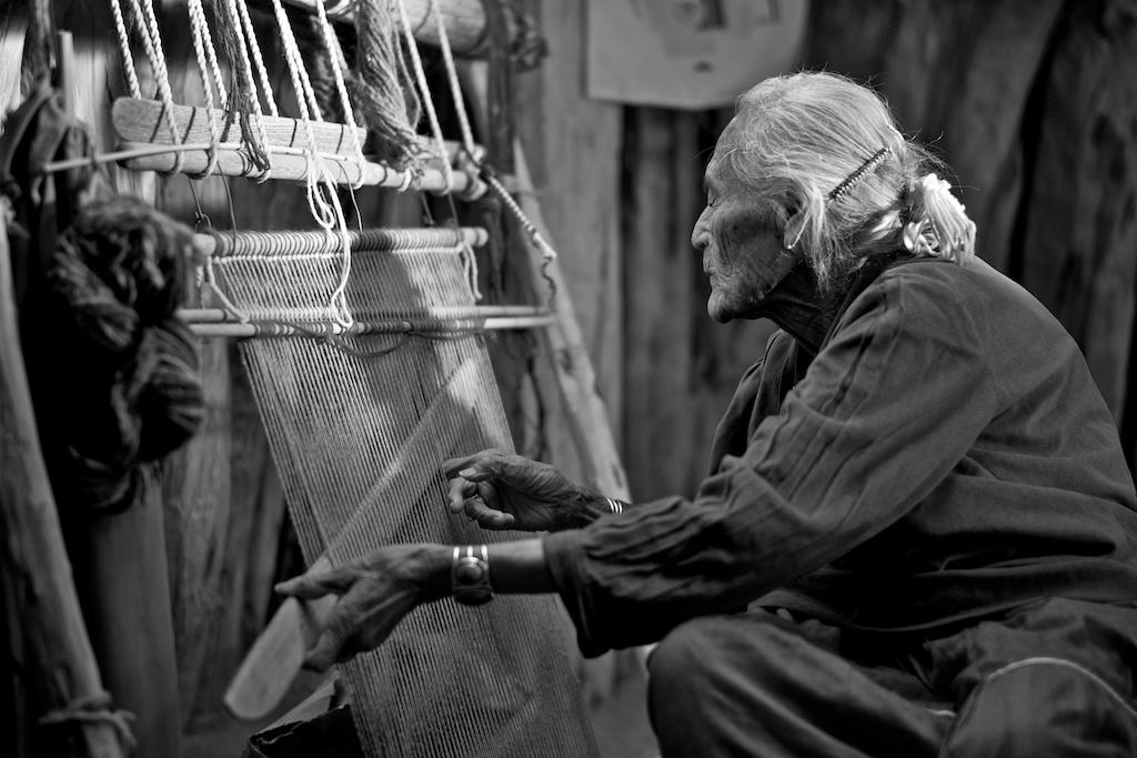 Susie Yazzie Weaving