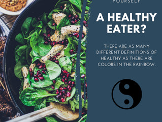 Healthy Eating According to Traditional Chinese Medicine