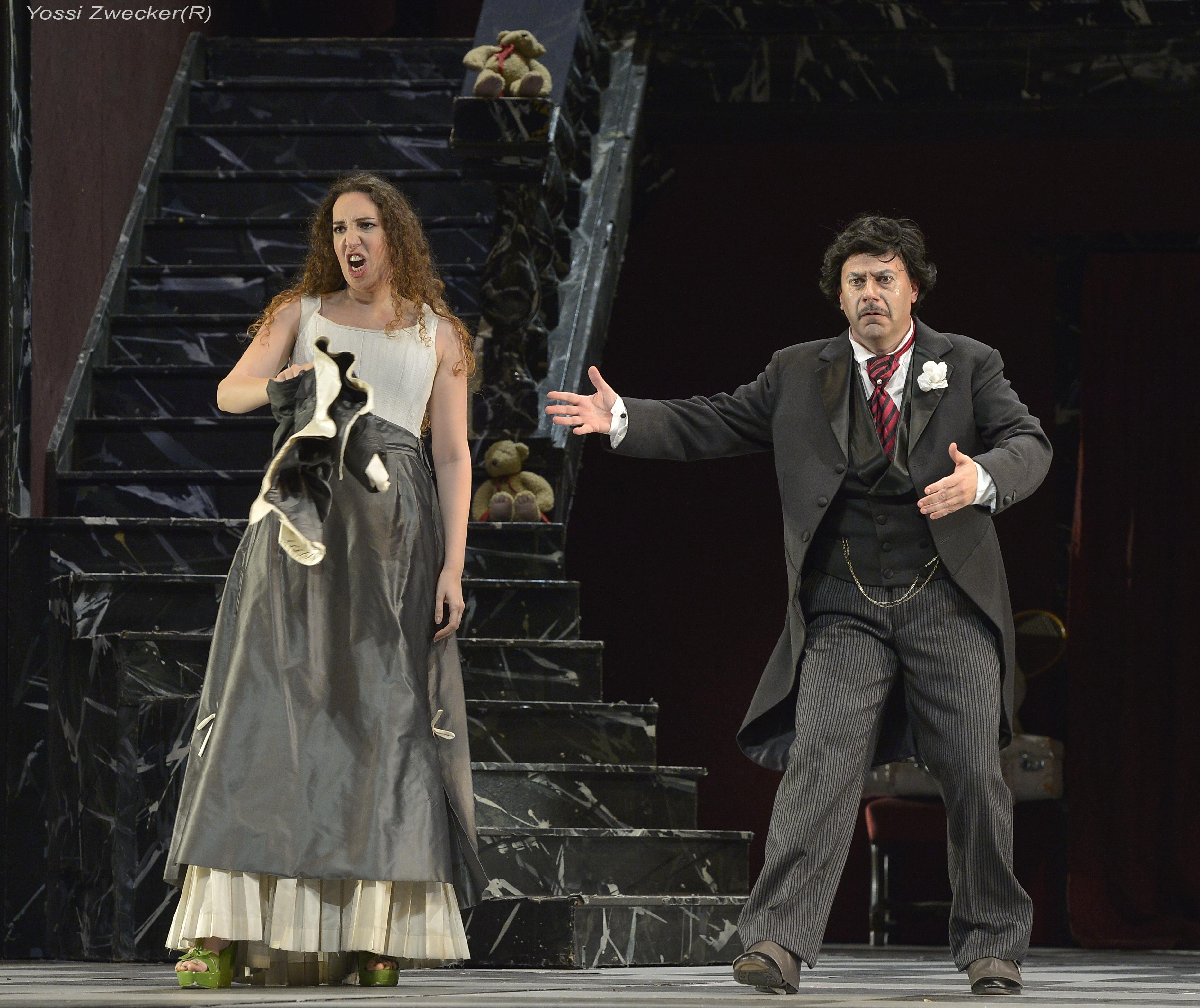 Norina and Pasquale