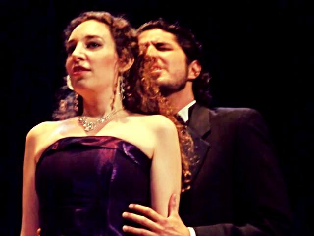 Violetta and Alfredo